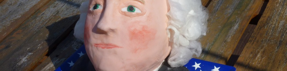 Happy P Day! Celebrate with an edible George Washington cake!
